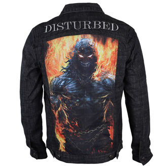 Männer Jacke Disturbed  - In destruct - Denim - BRAVADO, BRAVADO, Disturbed