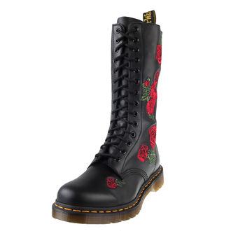 Schuhe DR. MARTENS - 14 Loch - Black Buttero, Dr. Martens