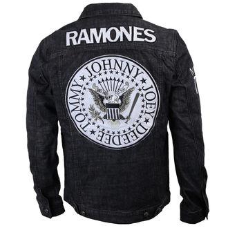 Männer Jacke Ramones - Seal - Denim - BRAVADO, BRAVADO, Ramones