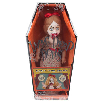 Puppe LIVING DEAD DOLLS - Lucy The Geek, LIVING DEAD DOLLS