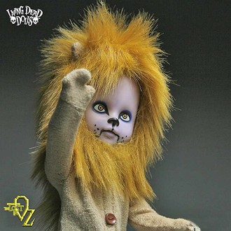 Puppe LIVING DEAD DOLLS - Teddy as The Lion, LIVING DEAD DOLLS