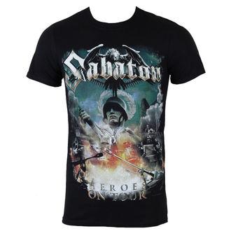 T-Shirt Männer  Sabaton - Heroes on tour - NUCLEAR BLAST, NUCLEAR BLAST, Sabaton