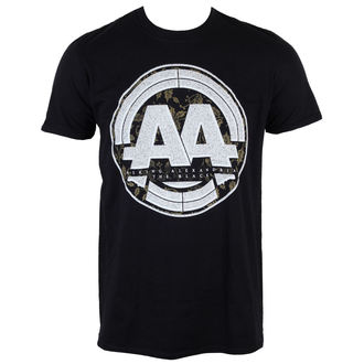 T-Shirt Männer  Asking Alexandria - Album Stamp - Black - LIVE NATION, LIVE NATION, Asking Alexandria