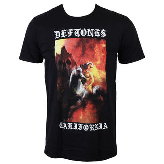 T-Shirt Männer  Deftones - California - Black - LIVE NATION, LIVE NATION, Deftones