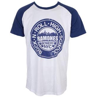Herren T-Shirt Metal Ramones - Bowery Nyc - ROCK OFF, ROCK OFF, Ramones
