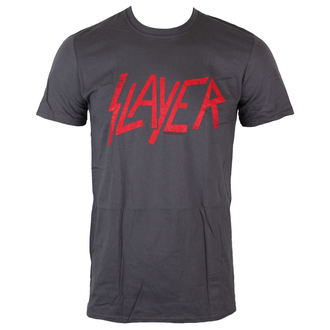T-Shirt Männer  Slayer - Distressed Logo - ROCK OFF, ROCK OFF, Slayer