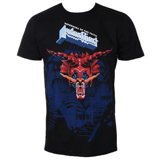 Herren T-Shirt Metal Judas Priest - Defenders Blue - ROCK OFF, ROCK OFF, Judas Priest
