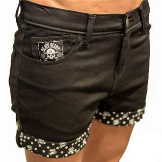 Damen Shorts BLACK HEART - Mark - BLK - BH160