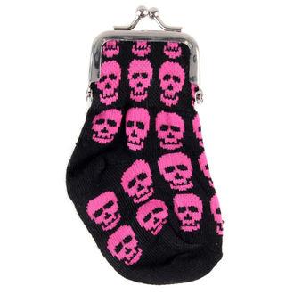 Geldbörse Schädel Skull - Rosa
