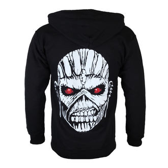 Männer Hoodie Iron Maiden - Eddie Axe White - BLK - ROCK OFF - IMHOOD05MB