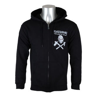 Männer Hoodie Iron Maiden - Eddie Axe White - BLK - ROCK OFF, ROCK OFF, Iron Maiden