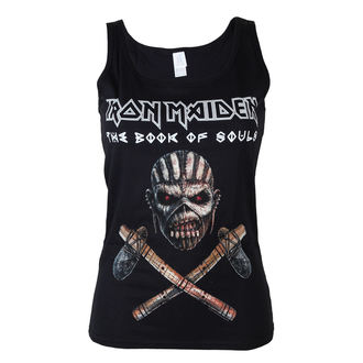 Damen Tank-Top Iron Maiden - Axe - BLK - ROCK OFF, ROCK OFF, Iron Maiden