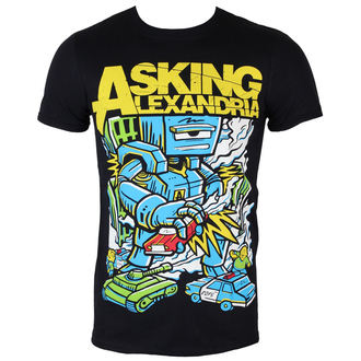 T-Shirt Männer  Asking Alexandria - Killer Robot - BLK - ROCK OFF, ROCK OFF, Asking Alexandria