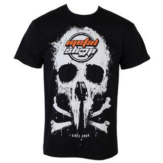 Herren T-Shirt  MetalShop - Black - MS015