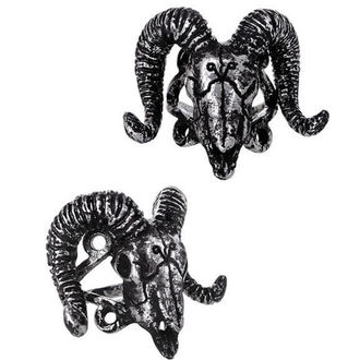 Ring RESTYLE - Ram Skull Silver - RES020