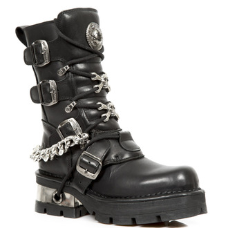 Punk Boots NEW ROCK - Itali Negro - Nomada Negro - Planing Negro, NEW ROCK
