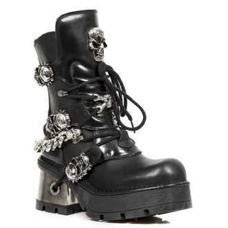Punk Boots NEW ROCK - Itali Negro - Nomada Negro - Planing New Negro, NEW ROCK