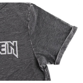 Herren T-Shirt  Iron Maiden - Book Of Souls - Burnout Grey - ROCK OFF
