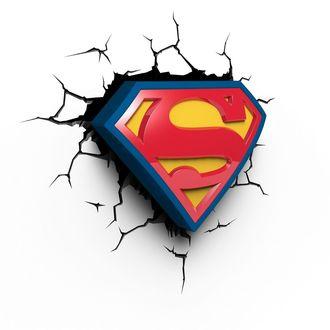 Dekoration Superman - DC Comics 3D LED Light