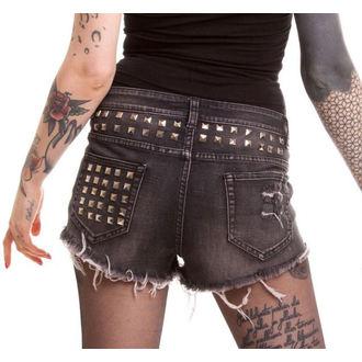 Shorts Ladies VIXXSIN - Razer - Black, VIXXSIN