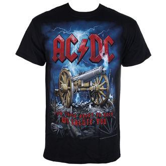 Herren T-Shirt  AC/DC - Cannon Carnage - LIQUID BLAU, LIQUID BLUE, AC-DC