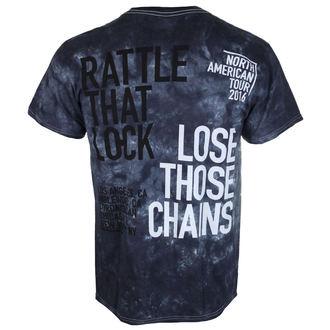 Herren T-Shirt  Pink Floyd - Rattle dass Lock - LIQUID BLAU, LIQUID BLUE, Pink Floyd