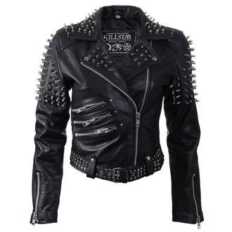 Leather Jacket Ladies KILLSTAR - Spike Leather - KIL304