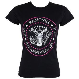 Damen T-Shirt  Ramones - 40th Anniversarry - ROCK OFF, ROCK OFF, Ramones