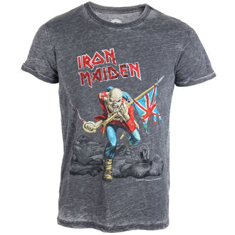 Herren T-Shirt  Iron Maiden - Trooper - ROCK OFF - IMBOTEE03MG