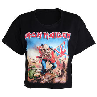 Damen T-Shirt  (top) Iron Maiden - Trooper - ROCK OFF, ROCK OFF, Iron Maiden