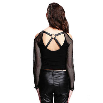 Damen Gothic Bluse DEVIL FASHION - Gothic Phoenix, DEVIL FASHION