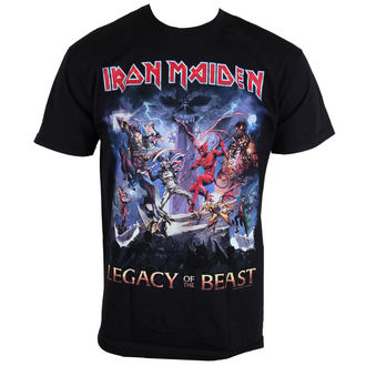 Herren T-Shirt  Iron Maiden - Legacy Of The Beast - ROCK OFF - IMTEE55MB