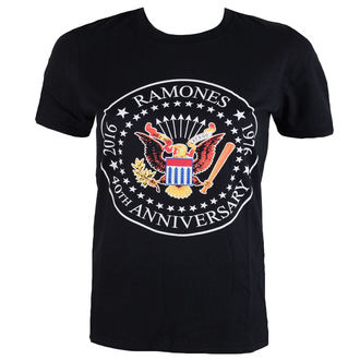 Herren T-Shirt  Ramones - 40th Anniversarry Seal - ROCK OFF, ROCK OFF, Ramones