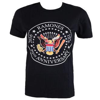 Herren T-Shirt  Ramones - 40th Anniversarry Seal - ROCK OFF, ROCK OFF, Ramones