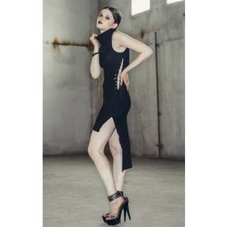 Damen Gothik Kleid Devil Fashion - Gothic Adore, DEVIL FASHION