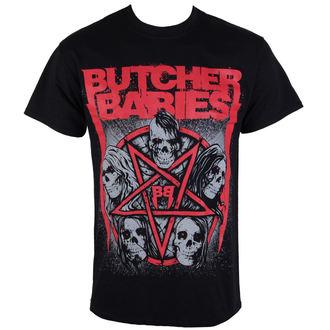 Herren T-Shirt  METZGER BABYS - STAR SKULL - RAZAMATAZ, RAZAMATAZ, Butcher Babies