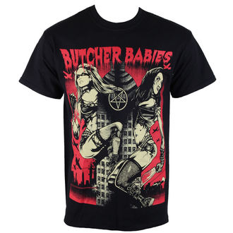 Herren T-Shirt  METZGER BABYS - TOWER OF POWER - RAZAMATAZ, RAZAMATAZ, Butcher Babies