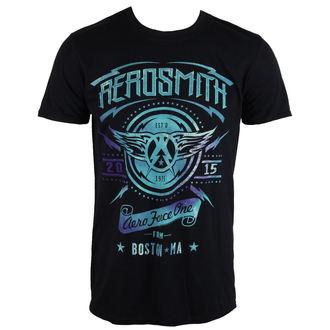 Herren T-Shirt  AEROSMITH - AERO FORCE ONE - LIVE NATION, LIVE NATION, Aerosmith
