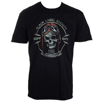 Herren T-Shirt  Black Label Society - PLASTIC HEAD, PLASTIC HEAD, Black Label Society