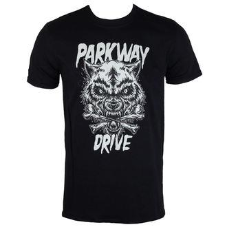 Herren T-Shirt  Parkway Drive - Wolf & Bones - PLASTIC HEAD, PLASTIC HEAD, Parkway Drive