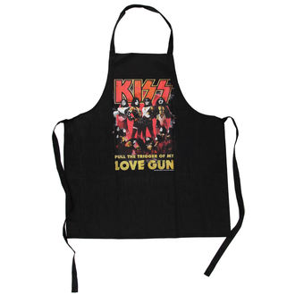 Schürze Kiss - Love Gun Apron - LOW FREQUENCY, LOW FREQUENCY, Kiss
