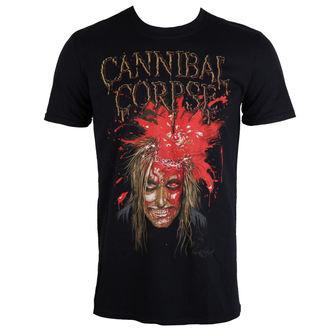 Herren T-Shirt  CANNIBAL CORPSE -IMPACT SPATTER - PLASTIC HEAD, PLASTIC HEAD, Cannibal Corpse