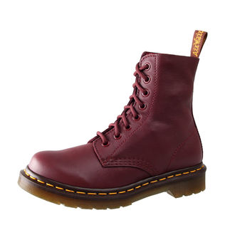 Stiefel Boots Dr. Martens - 8 Loch - Pascal Cherry Red Virginia, Dr. Martens