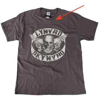 Herren T-Shirt Lynyrd Skynyrd - Biker Patch - LIVE NATION - BESCHÄDIGT, LIVE NATION, Lynyrd Skynyrd