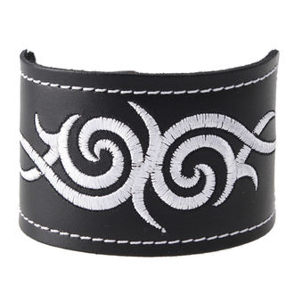 Armband Tribal - weiss, BLACK & METAL