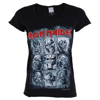 Damen T-Shirt IRON MAIDEN - EDDIES - Amplified, AMPLIFIED, Iron Maiden