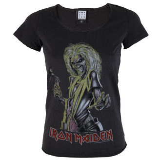 Damen T-Shirt IRON MAIDEN - KILLER - Amplified, AMPLIFIED, Iron Maiden