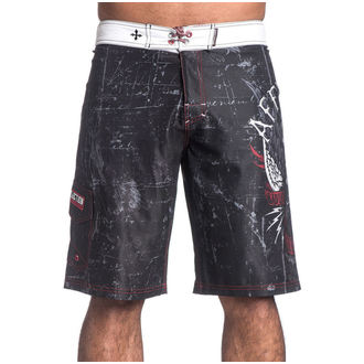 Herren Schwimmhose (Shorts) AFFLICTION - Wild Wing - BK, AFFLICTION