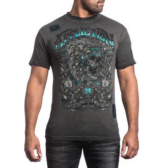 Herren T-Shirt AFFLICTION - Apache Freedom - BKGE, AFFLICTION