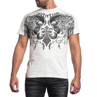 Herren T-Shirt AFFLICTION - Santee Warrior - VW, AFFLICTION